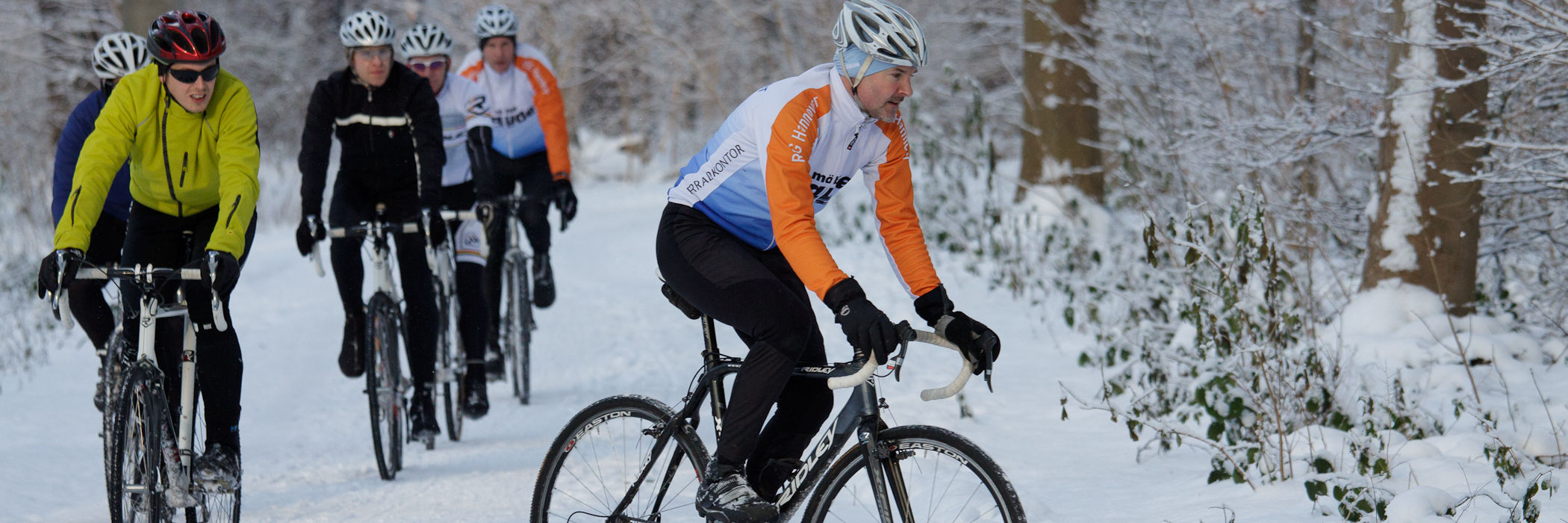 cyclocross im Winter