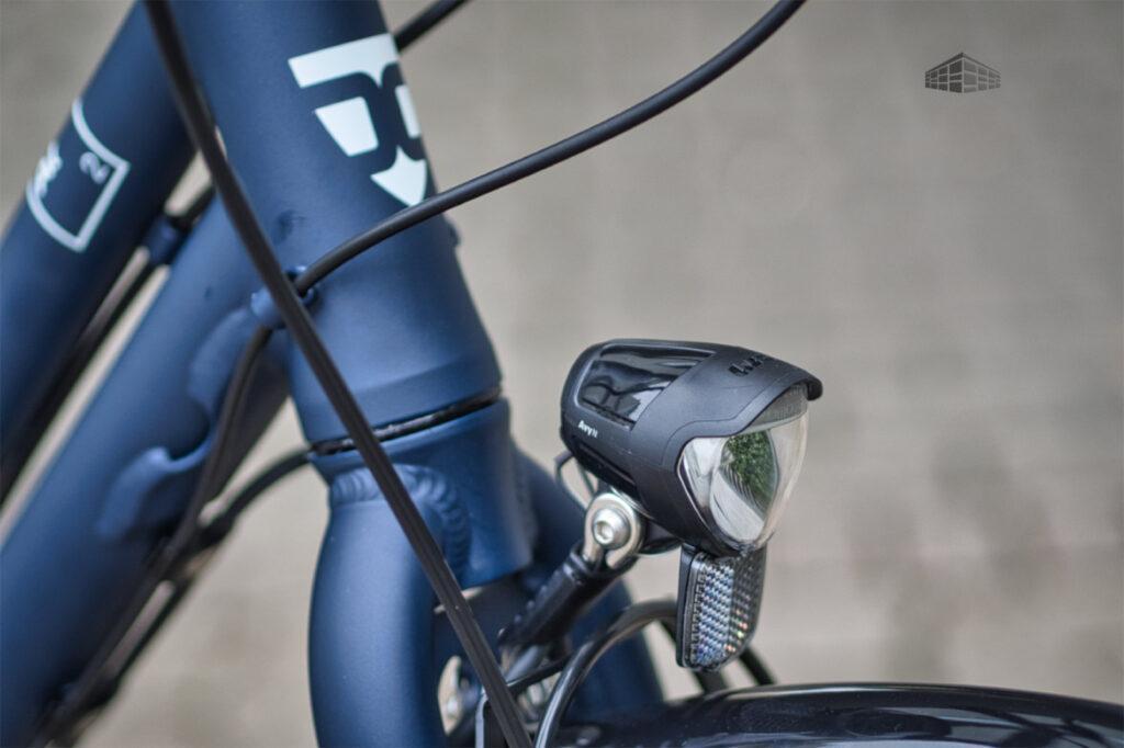 City-Bike Contoura AL-2 Front-Scheinwerfer B&M Avy