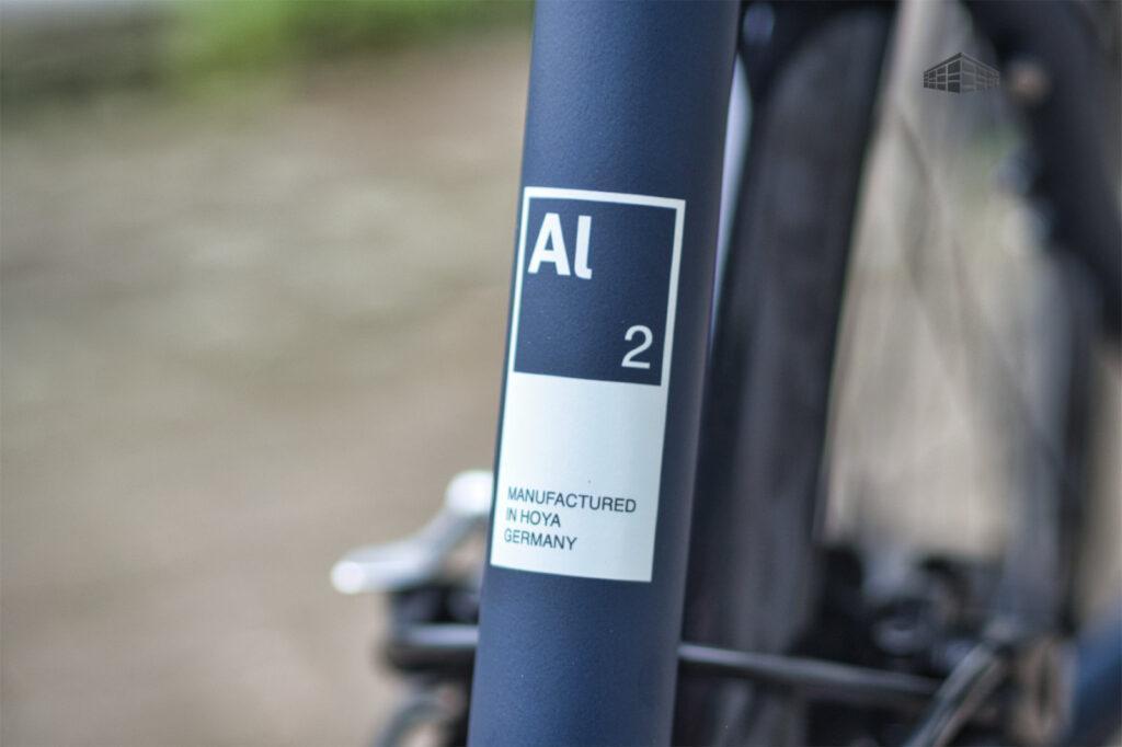 City-Bike Contoura AL-2 Rahmen Dekor