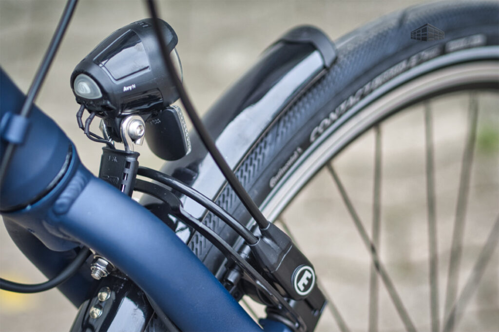 City-Bike Contoura AL-2 hydraulische Felgenbremse Magura HS 22 vorne