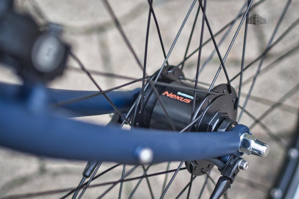 City-Bike Contoura AL-2 Shimano Nabendynamo