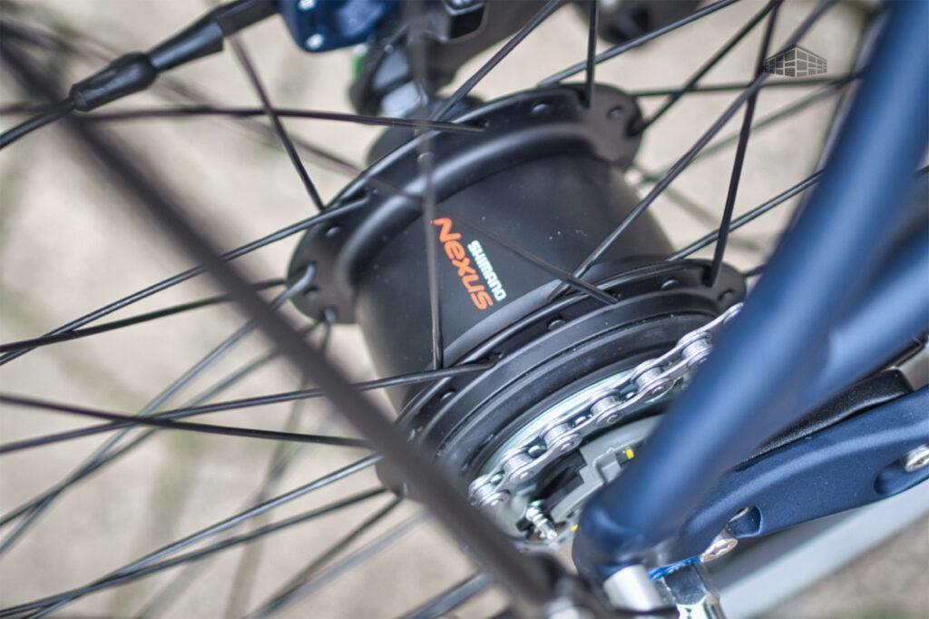 City-Bike Contoura AL-2 Shimano Nexus 8-Gang-Nabenschaltung