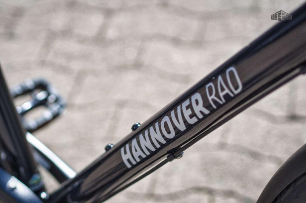 Hannoverrad Easy Stahl-Rahmen Dekor