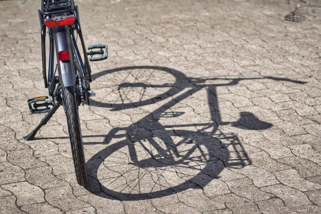 Hannoverrad Easy hinten und Schatten