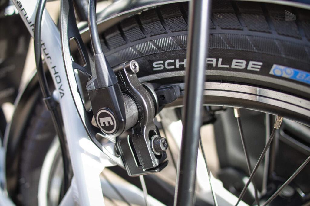 i:SY, Magura bremse und Schwalbe-Reifen