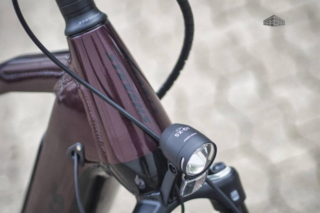 Stevens E-Triton PT6 - Scheinwerfer B+M IQ-XS 70 Lux