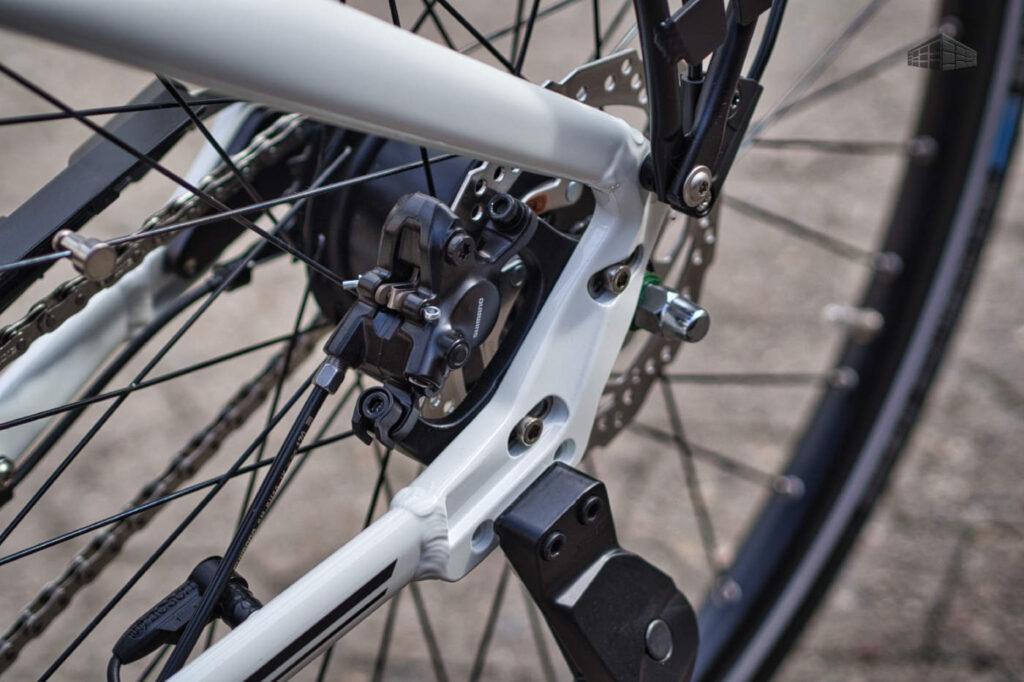 Velo De Ville - AEB 400 - Shimano MT200 Disc Bremse HR