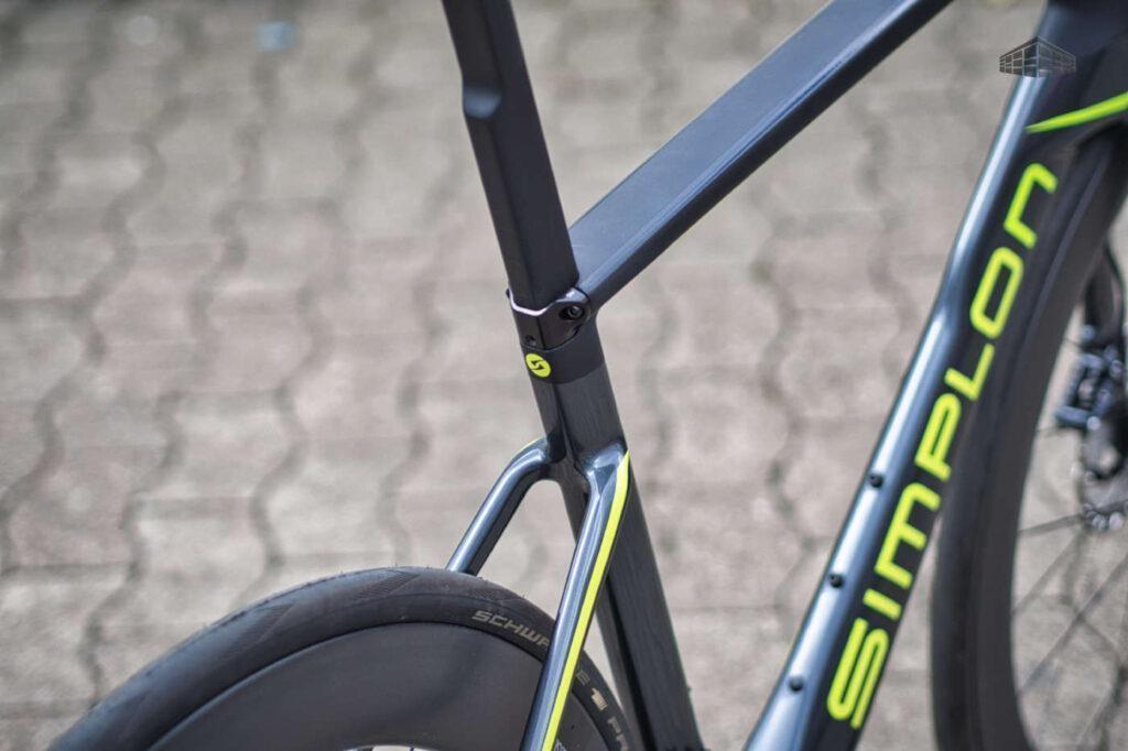 Simplon Pride - Carbon Rennrad - Sitzrohr, Sattelstütze