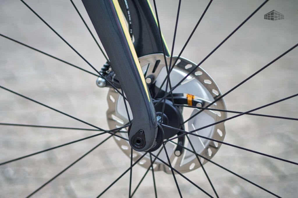 Simplon Pride - Carbon Rennrad - Bremse Vorderrad