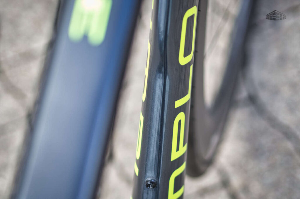 Simplon Pride - Carbon Rennrad - Rahmen Dekor