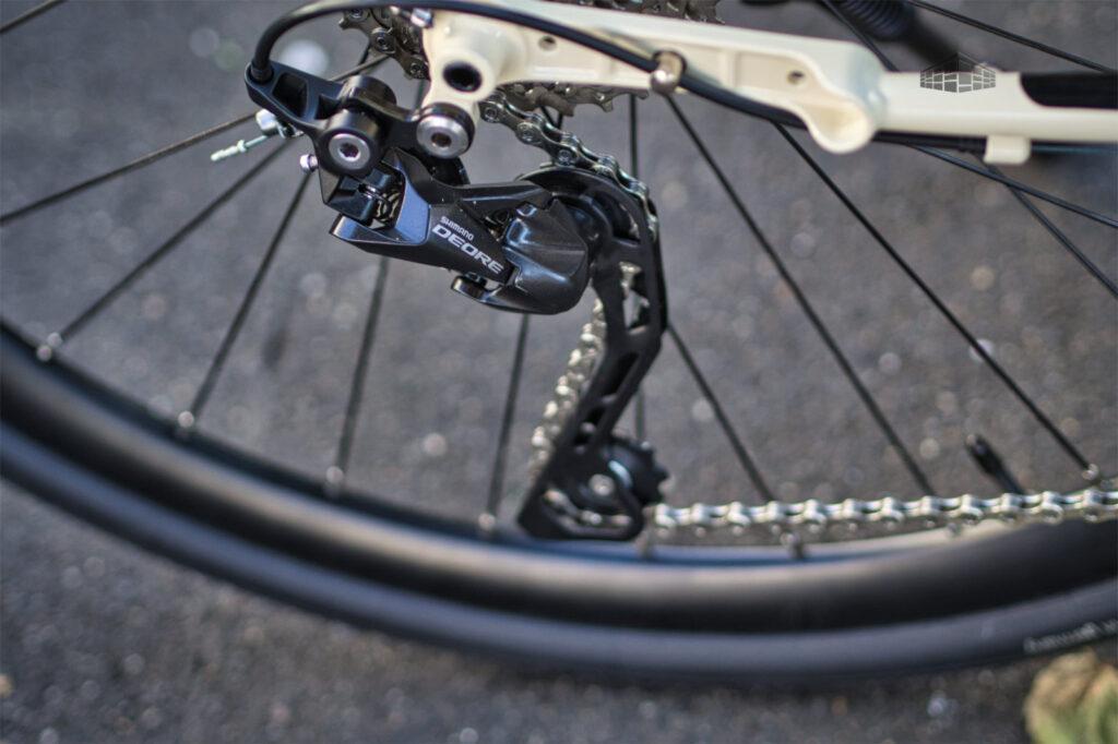 Contoura Fe-12 Tourenrad - Schaltwerk Shimano Deore