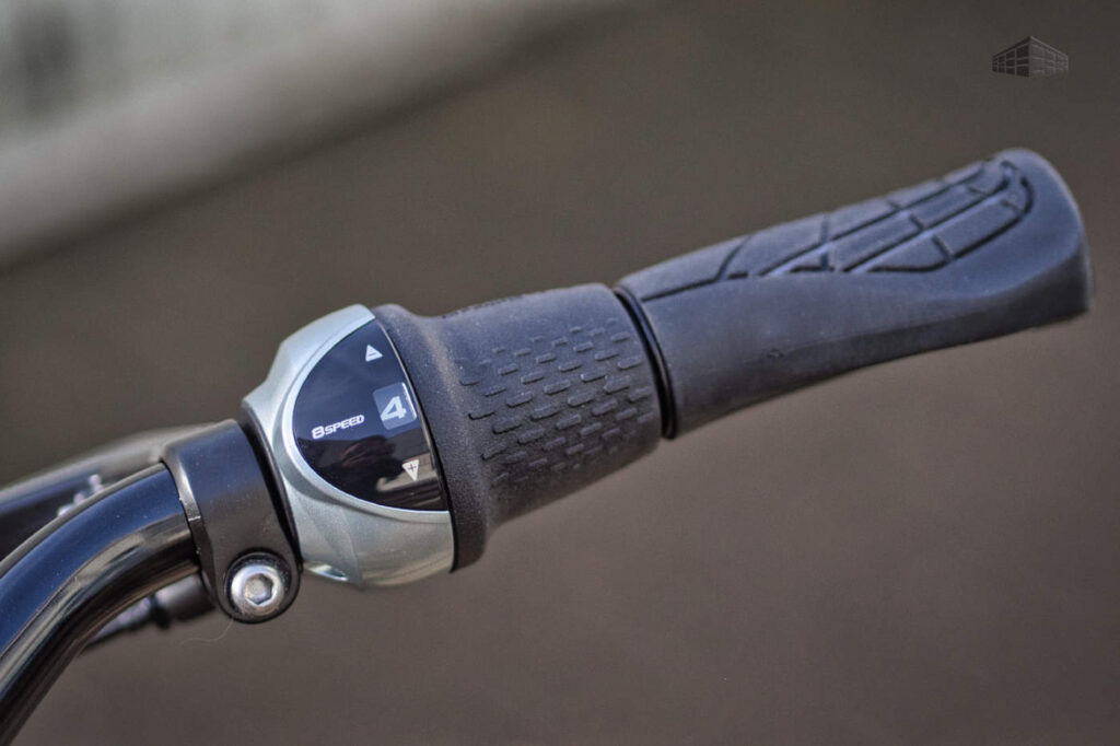 Contoura Fe-4 grau Nexus Schaltgriff