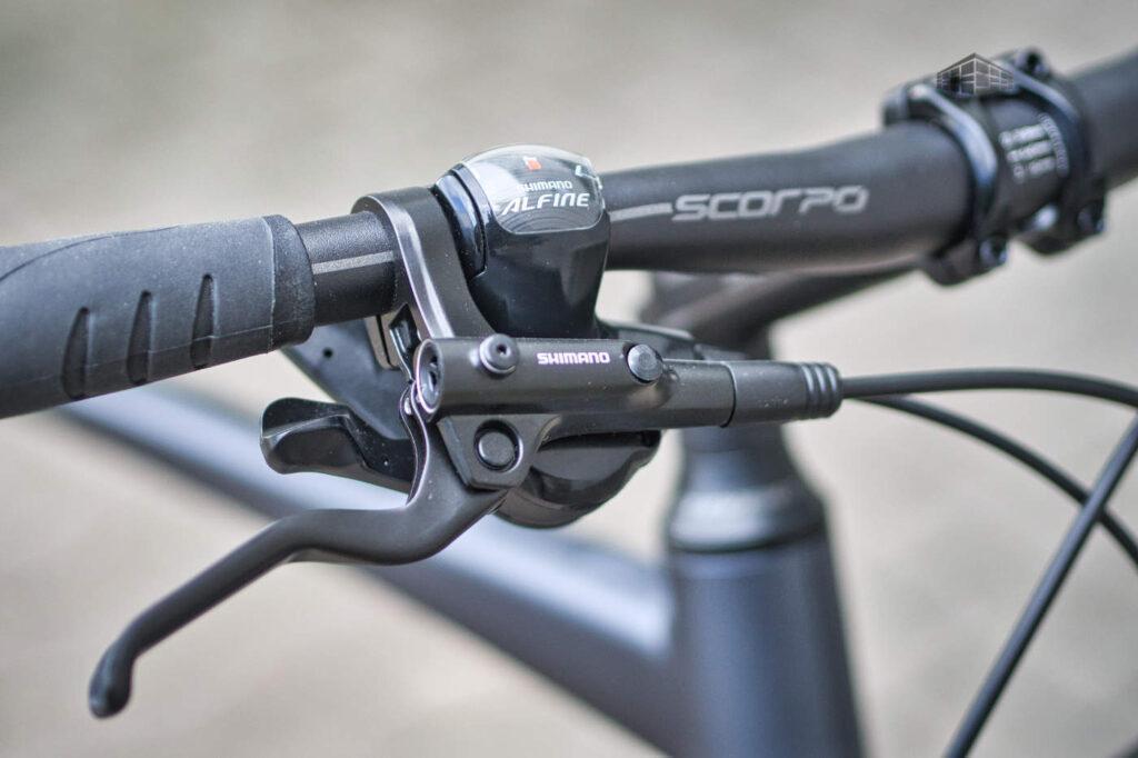 Stevens Courier Luxe - Shimano ALfine 8 Brems-Schaltgriff