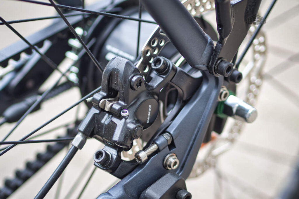 Stevens Courier Luxe - Shimano BR-MT200 Scheibenbremse hinten