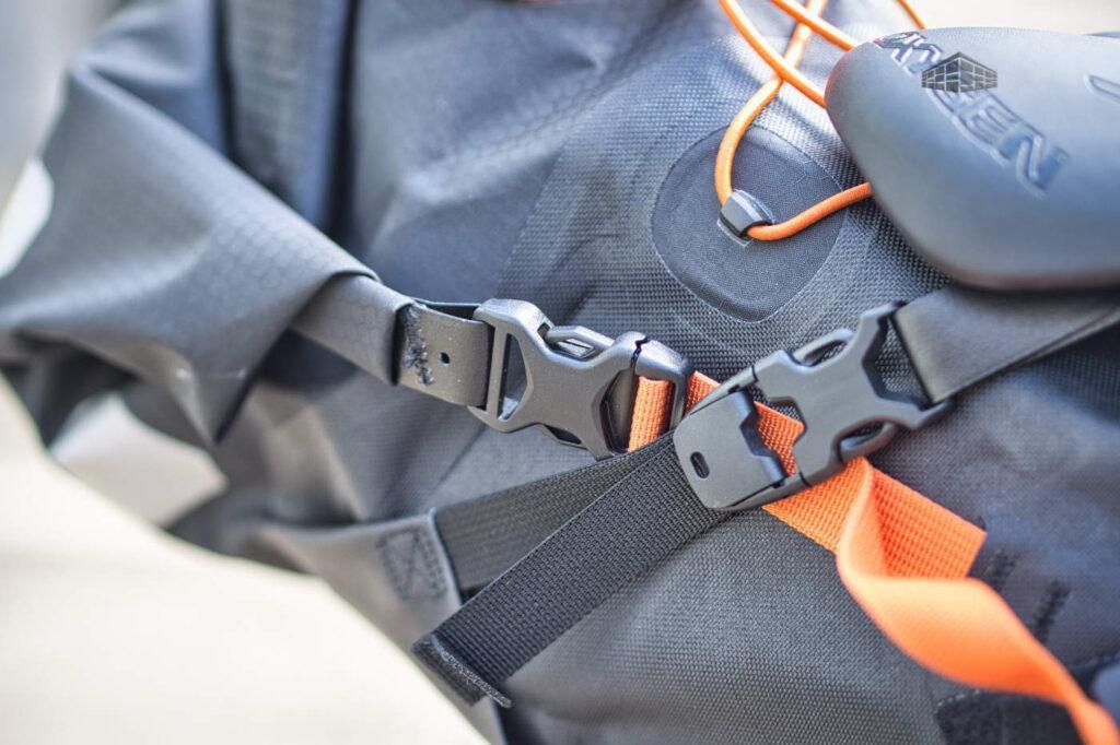 Ortlieb Bikepacking - Seat-Pack Verschlüsse
