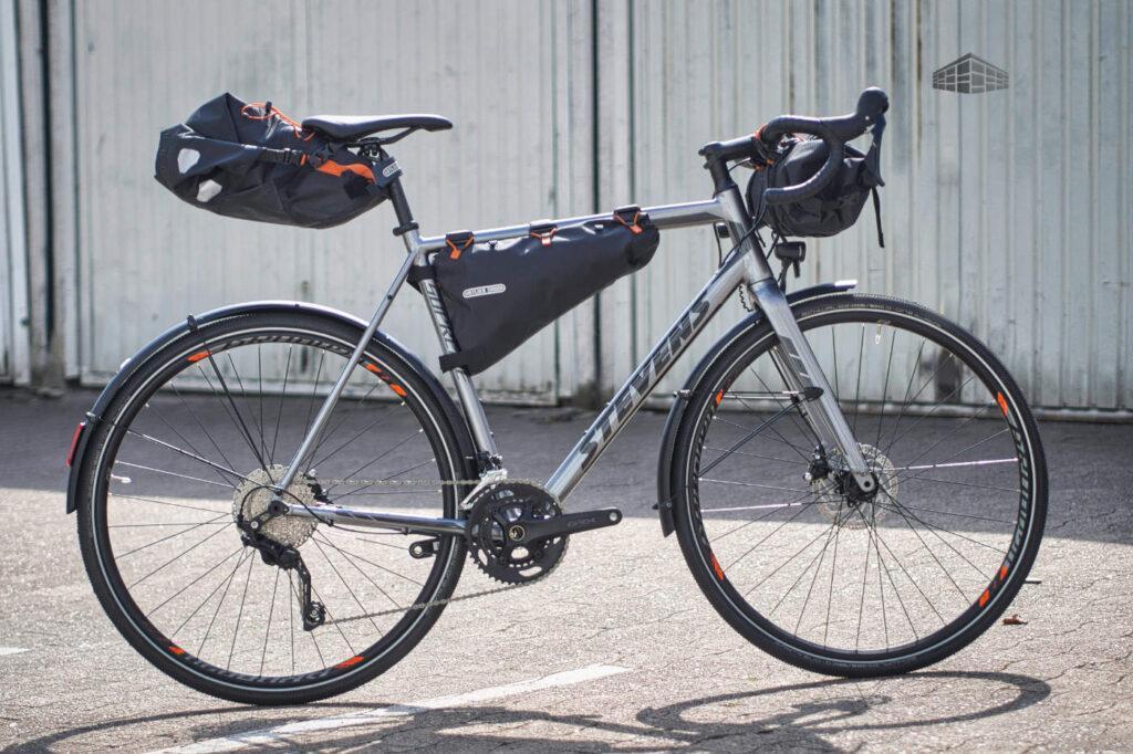 Ortlieb Bikepacking - Stevens Supreme Gravelbike