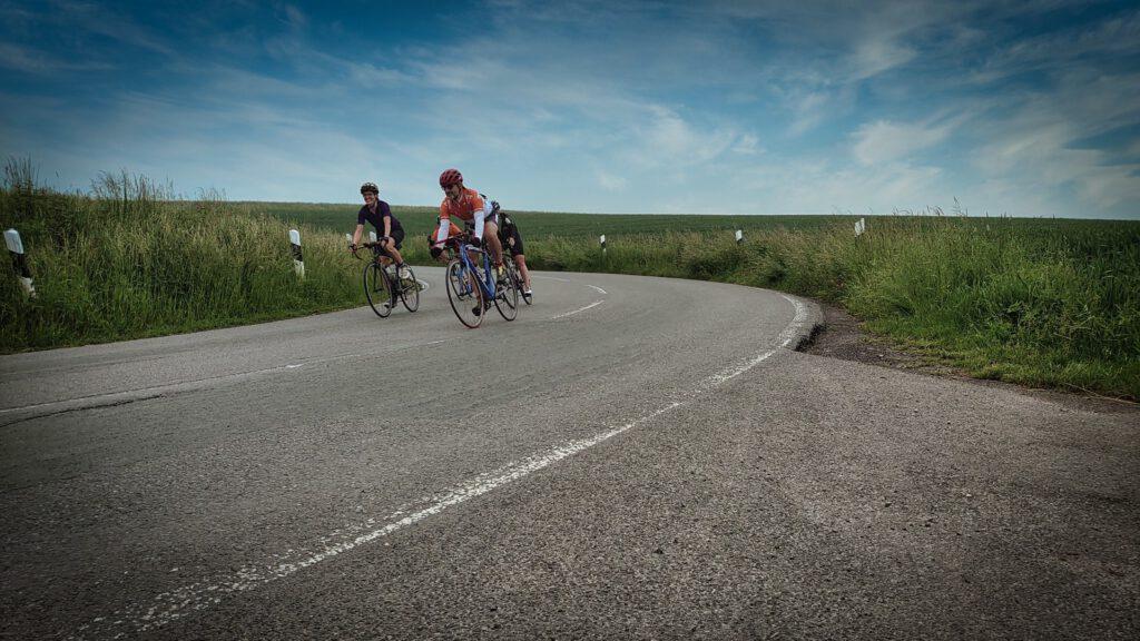 Biking mit Freunden